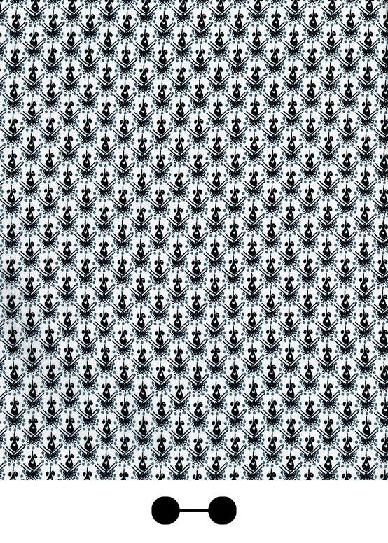 Glaucous grey print | SS13