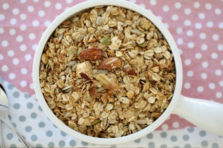 Thermomix Nut & Seed Toasted Muesli.