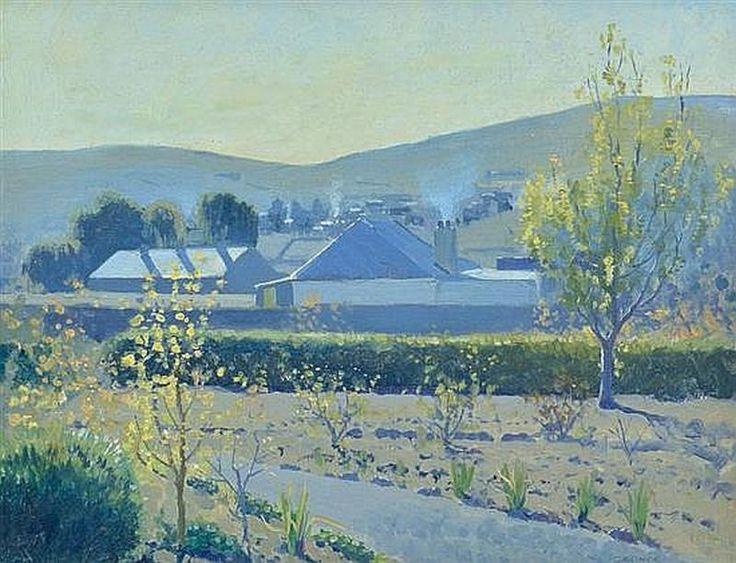 Monaro Landscape 1927elioth gruner