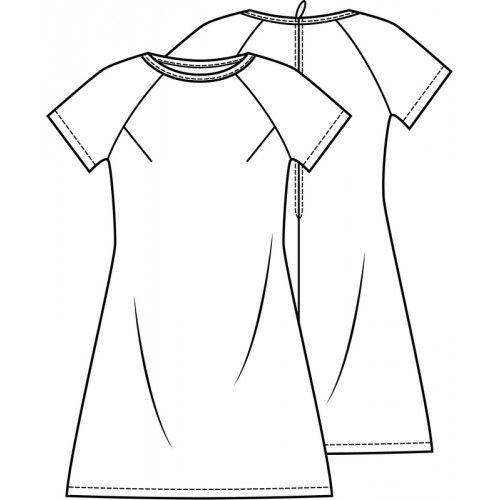 Patroon jurk (pdf patroon) | Dames | Knipmode | Knipmode