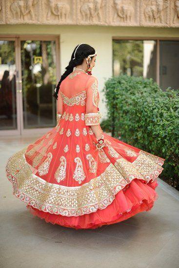 Shivani & Harsh (Mumbai) Real Indian Wedding Photos - Wed me Good #mehendi #gotapatti #flowerjewellery