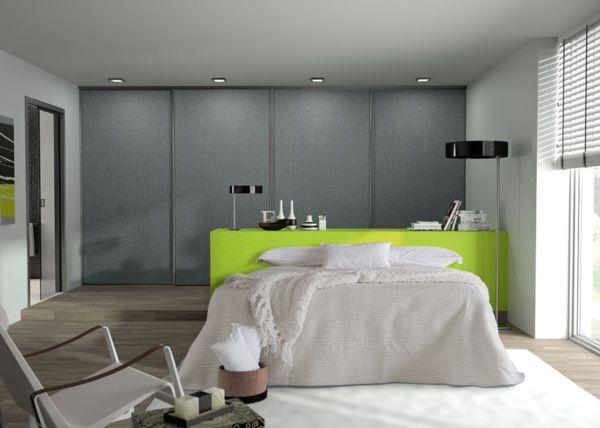 Porte de placard Origine - collection aluminium SOGAL TANGUY Matériaux