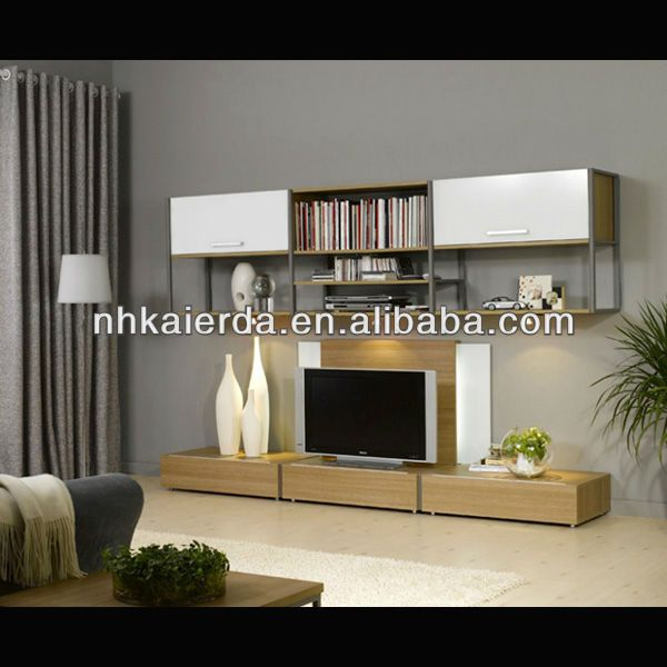 home furniture lcd wall unit design/wall units designs in living