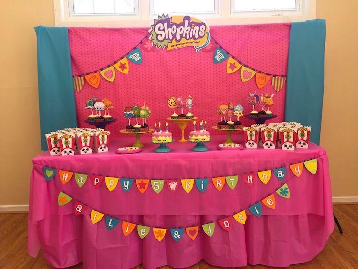 Dessert Table from a Shopkins Birthday Party via Kara's Party Ideas - KarasPartyIdeas.com (11)