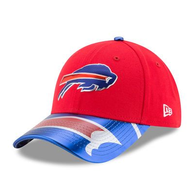 Buffalo Bills New Era Women's 2017 NFL Draft On Stage 9FORTY Adjustable Hat - Red