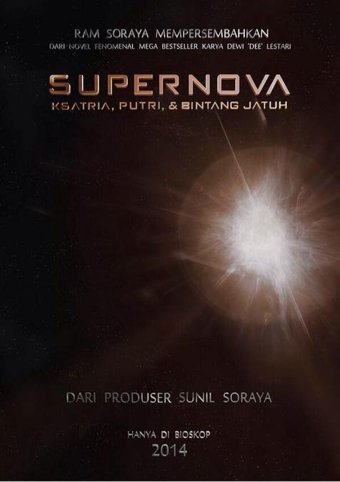 Supernova series #1 Ksatria, Putri & Bintang Jatuh by Dewi 'Dee' Lestari.
