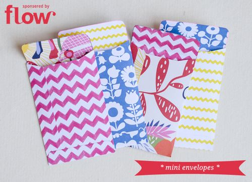 Mini Envelopes and a Giveaway