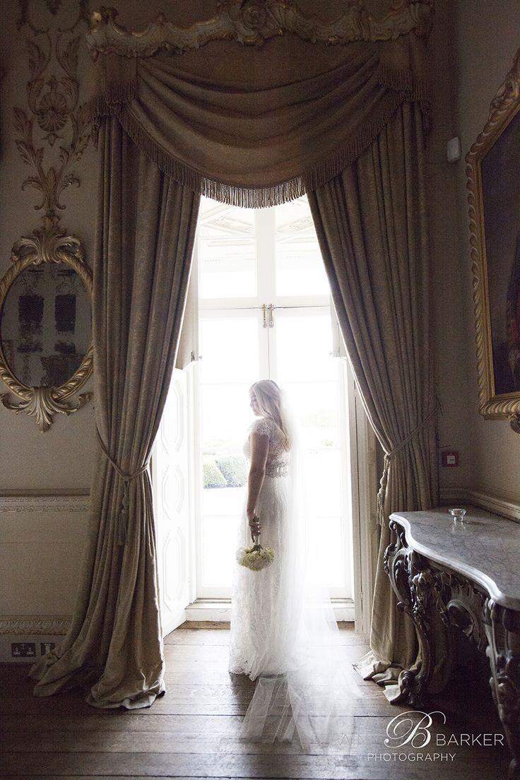 Carton House wedding portrait of the lovely Lynne in gorgeous window light.