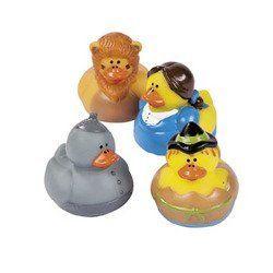Amazon.com: Wizard of Oz Theme Rubber Duckys - 12 pc: Toys & Games