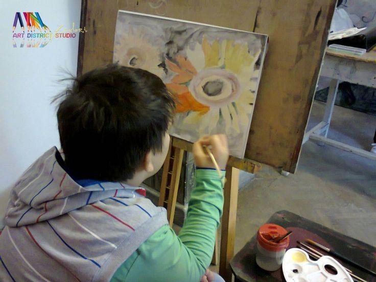 Cursuri Pictura copii si adulti | Atelier 7culori