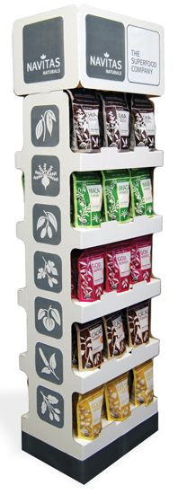 Navitas Naturals Bows Free POP Display - Regional Supermarket Chains…