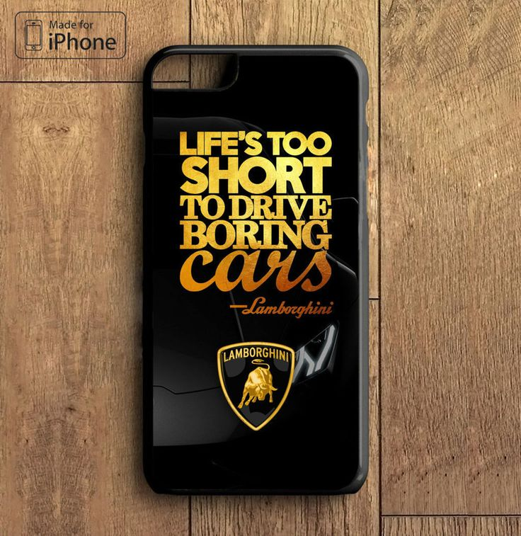 Hot Rare Lamborghini Quote Custom Print On Hard Case Cover For iPhone 6/6s, 6s+ #UnbrandedGeneric #cheap #new #hot #rare #iphone #case #cover #iphonecover #bestdesign #iphone7plus #iphone7 #iphone6 #iphone6s #iphone6splus #iphone5 #iphone4 #luxury #elegant #awesome #electronic #gadget #newtrending #trending #bestselling #gift #accessories #fashion #style #women #men #birthgift #custom #mobile #smartphone #love #amazing #girl #boy #beautiful #gallery #couple