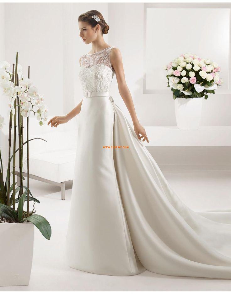 Glittra & Skin Satäng Naturlig Bröllopsklänningar 2015