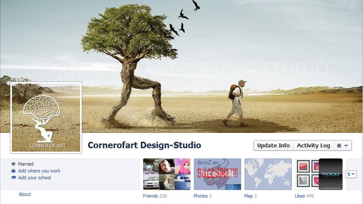 creative #facebook timeline cover photos 19 pic on Design You Trust