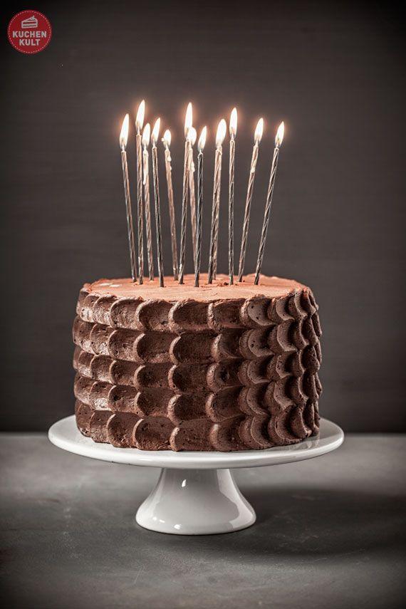 Schokoladentorte Zum Geburtstag Torte Frosting