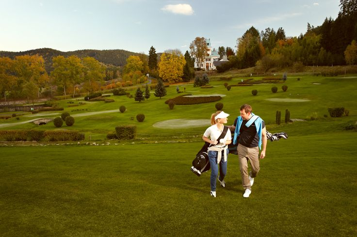 Golf in Karlovy Vary / Karlsbad