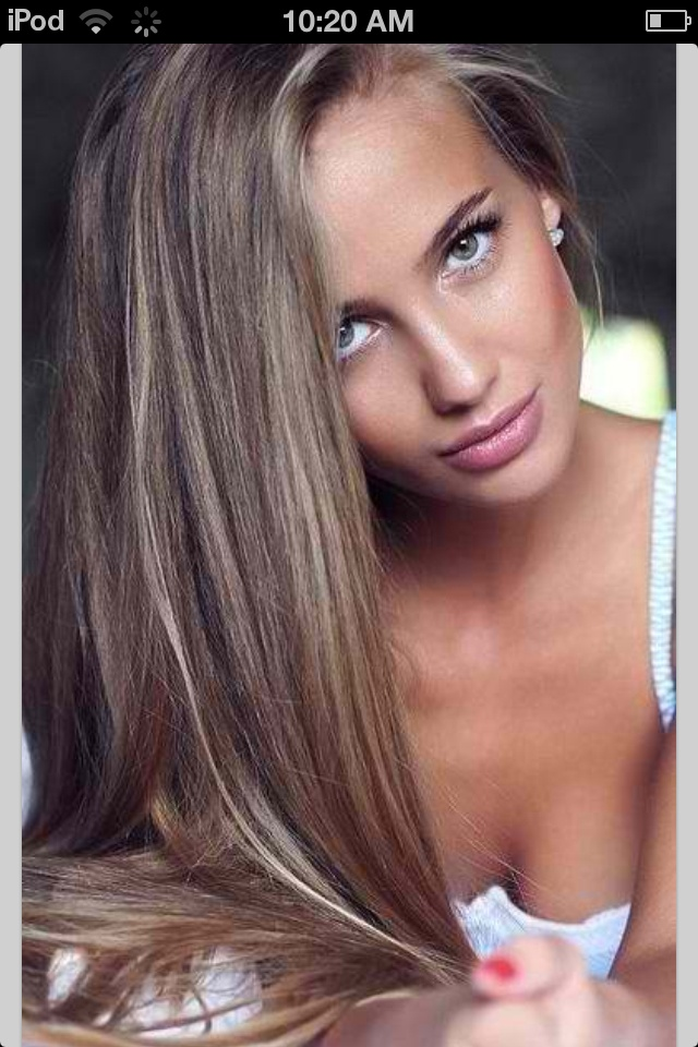 Ash Brown Hair looks like my Maddie\u002639;s hair color love it  BEAUTY  Pinterest  Ash Brown, Ash