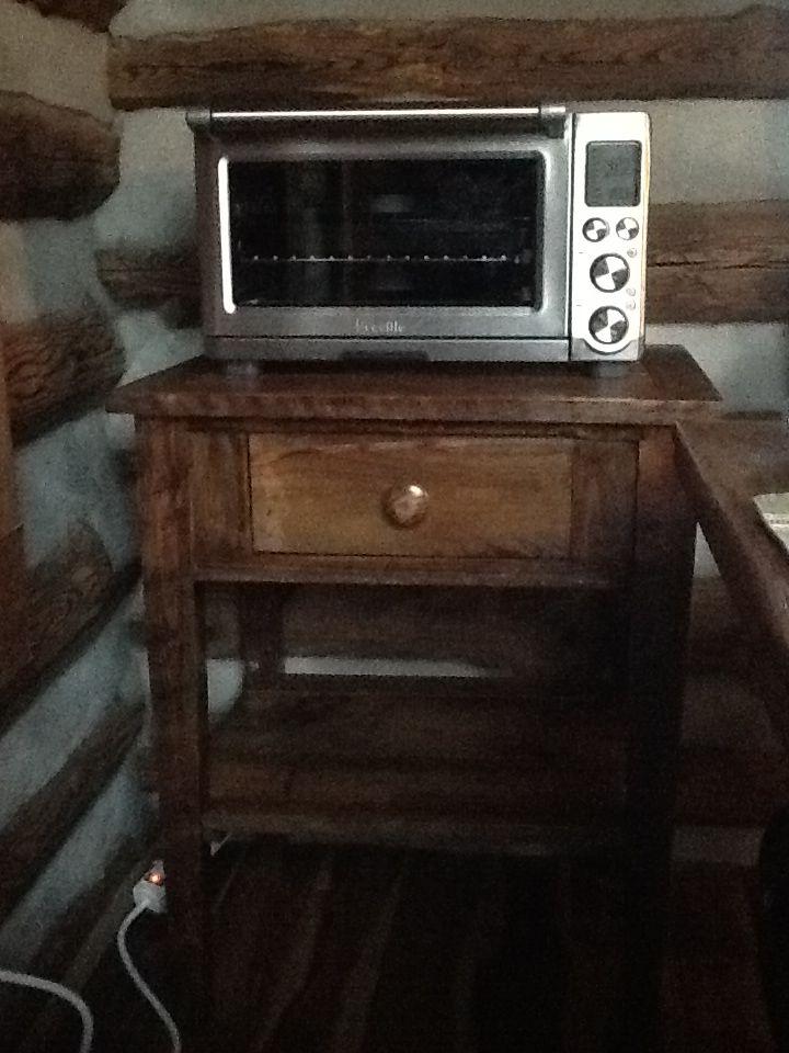 Microwave Stand. Microwave StandIndustrial FurnitureWood FurnitureBarn  WoodMicrowaves