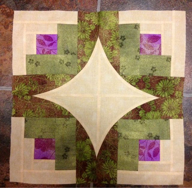 Night Owl Quilting & Dye Works: Curve It Up Log Cabin