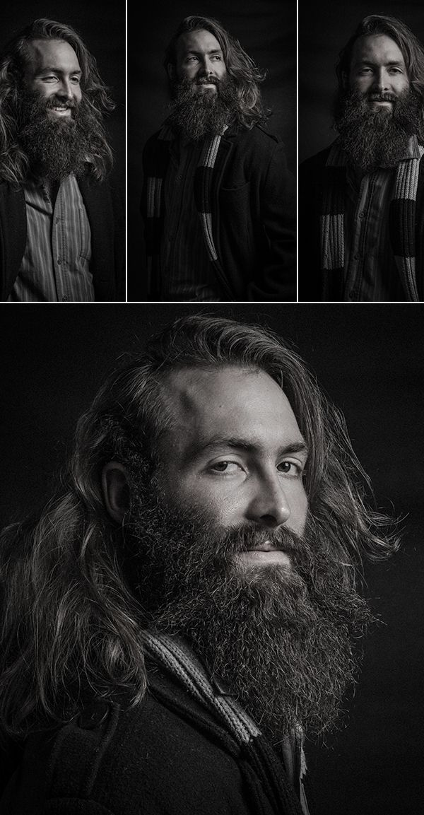 ANTARCTICA Portraits by Elsofie Pitout, via Behance