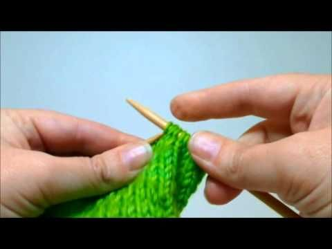 Knitting and purling German short rows The easiest and most effective way to work short rows
