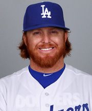 justin turner dodgers hair redhead baseball dodger angeles los dallas visit