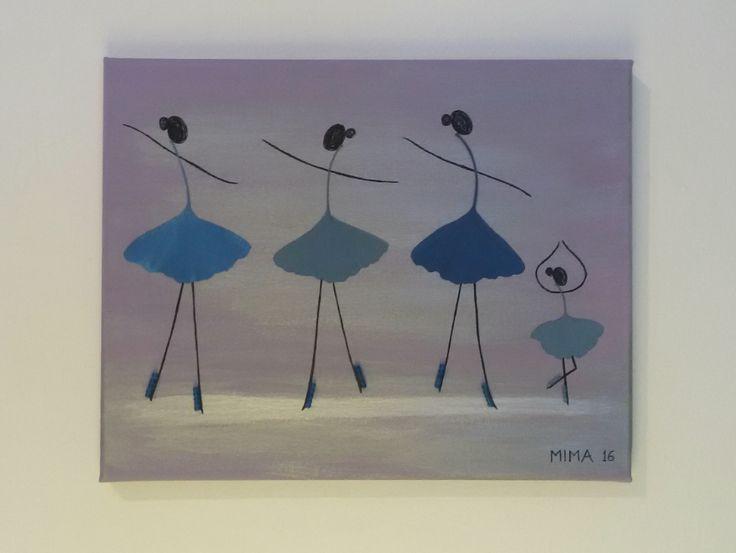 Blue Ginkgo dancers