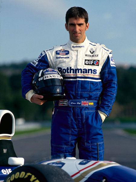 Damon Hill (GBR). F1 World Champion 1996