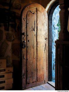Ла Пуэрта Оригинальные пользовательские винный погреб дверь.