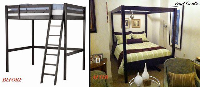 TRIQDEM Canopy Bed - IKEA Hackers - IKEA Hackers