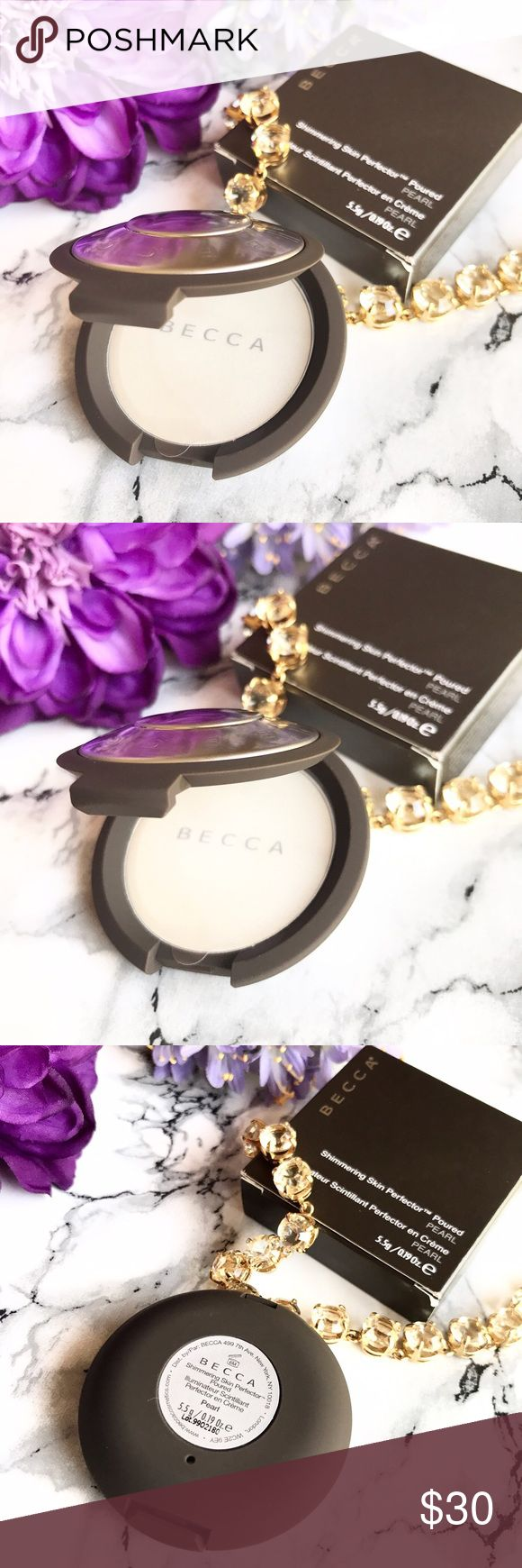 🆕 NEW 🌷 Becca Skin Perfector Poured PEARL -Full 🆕 NEW 🌷 Becca Shimmering Skin Perfector Poured PEARL 🍃 Full Size * Brand new * Never Used * Never Swatched. 🍃 Perfect for Fair to Light skin tone 🍃 cult favorite! 💕 FIRM PRICE 💕 💕 Always NEW, Always AUTHENTIC 💕 BECCA Makeup Luminizer