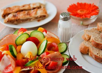 Daily living habit has a great effect on kidney cyst patients. A bad living habit will easily worsen kidney cyst and cause more discomforts. Well then, what is good food for kidney cyst?