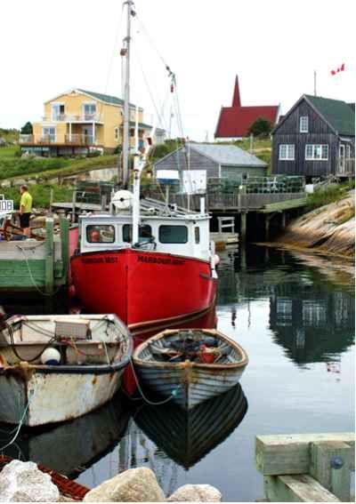 Peggy's Cove - Nova Scotia's most beautiful fishing village