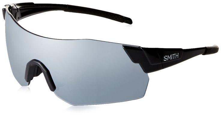 Smith Optics Pivlock Arena Max Sunglass with Super Platinum, MATTE BLACK