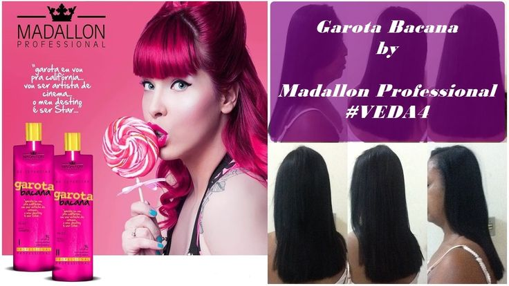 Garota Bacana by Madallon Professional - Escova progressiva com formol #...
