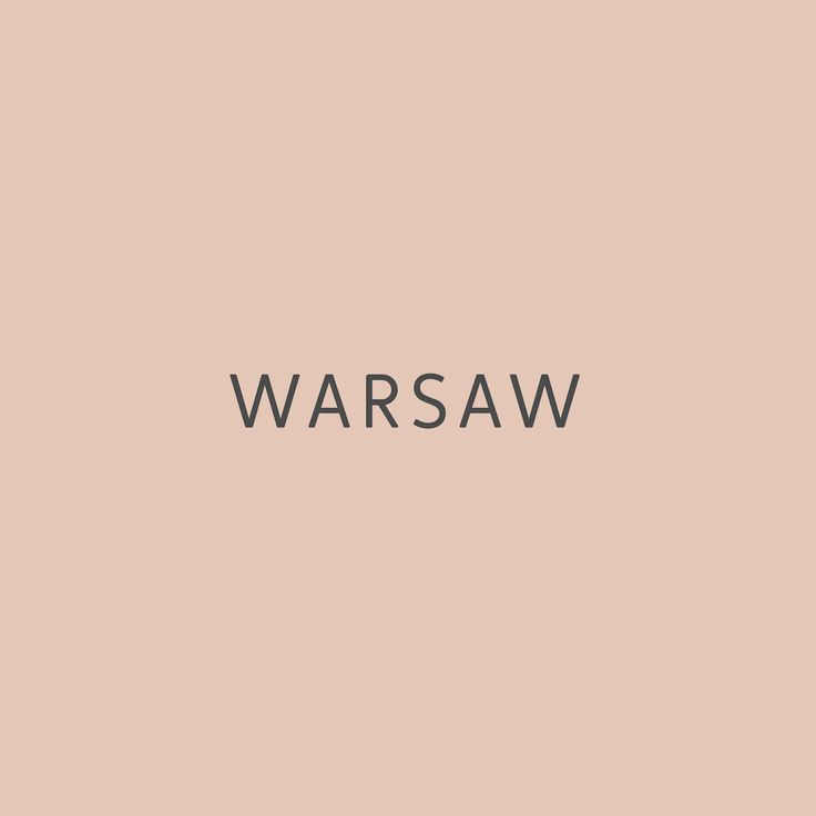 Here comes WARSAW