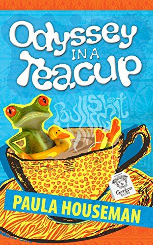 """Humor and Satire Fiction Novel by Paula Houseman  """"Odyssey in a Teacup"""" is now FREE on Amazon.com! Grab your copy here: http://www.amazon.com/dp/B0153VEB2I/ Grab your FREE Copy Today (Only Available 26th Sep - 28th Sep)  #humor #satire #women #free #kindlepromo #mustread #ebooks"""