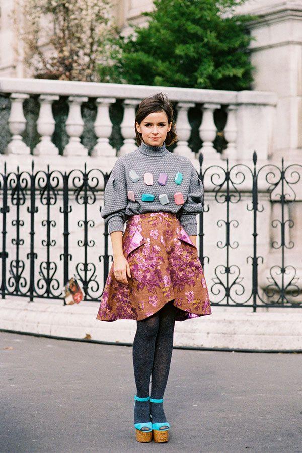 Paris Fashion Week AW 2012...Miroslava