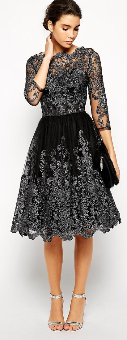 Beautiful black fit & flare  Don't bother to follow the link...                                                                                                                                                     More
