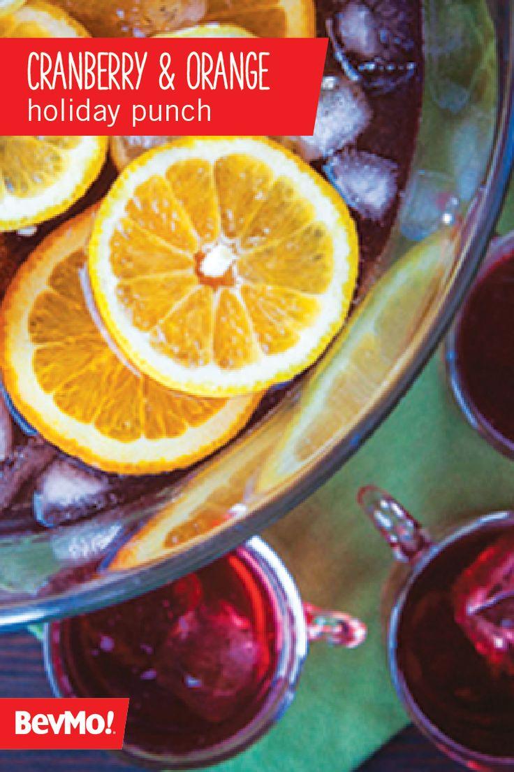 recipe: cranberry orange vodka punch [31]