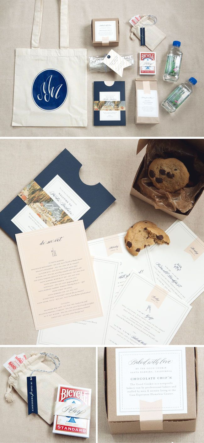 99 best wedding welcome bags images on Pinterest | Wedding ideas ...