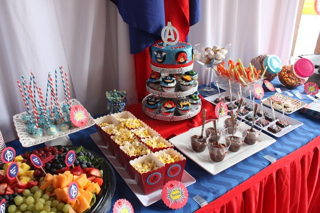 ... Avengers Party, Bday Party, Kids Party, Birthday Party Ideas, Avengers