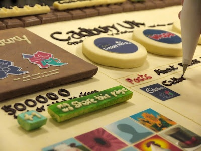 Cadbury recreates their entire Google+ page in chocolate. See how they did it.