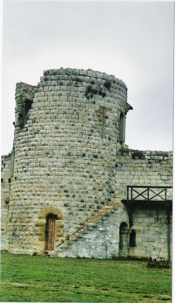 Puivert-tour - Château de Puivert (Aude)