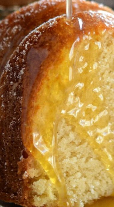 Almond Amaretto Pound Cake