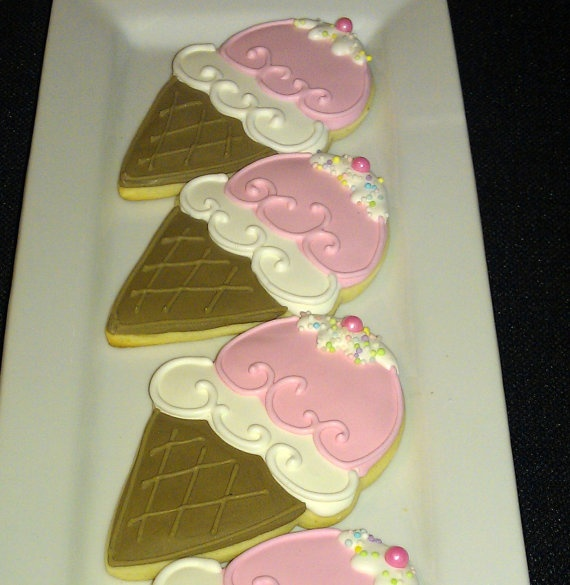 17 Best images about Ice Cream Cookies Decorated Cookies ...