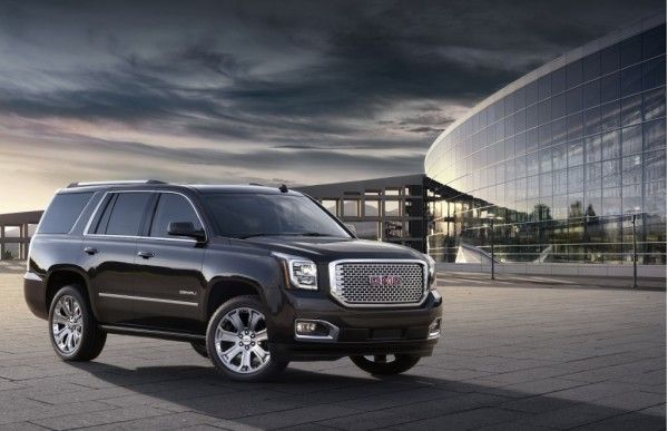 2015 GMC Yukon SUV Front Pictures 600x387 2015 GMC Yukon SUV Review With Images