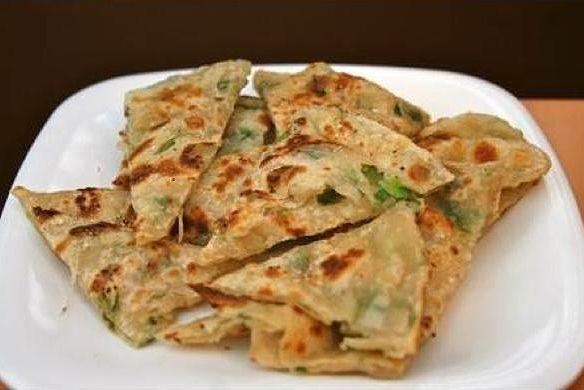 Chung Yao Beng - Scallion Pancakes A.K.A. Chinese Flat Bread recipe - Foodista.com