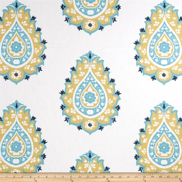 premier prints damask blue from screen printed on cotton duck this versatile medium weight fabric is perfect