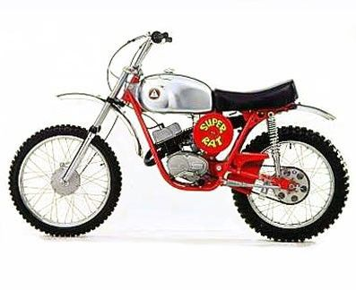 Hodaka Combat Wombat. I remember seeing these in dirt bike races when I was a kid.